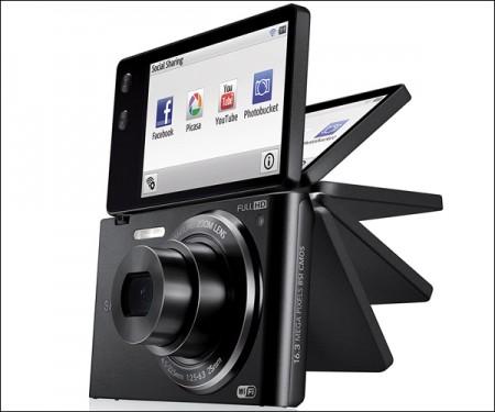 Компактный фотоаппарат с откидным экраном — Samsung MV900F