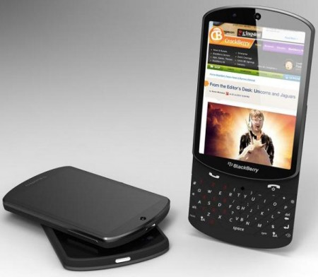 Концепт-слайдер BlackBerry 10