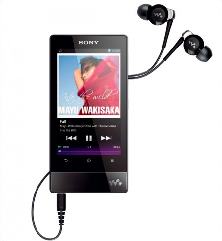 Плеер на Android 4.0 – Sony Walkman F800 (2)