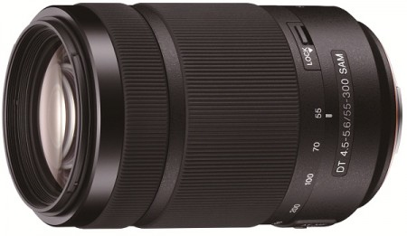 Телезум Sony SAL55300 для камер Sony Alpha