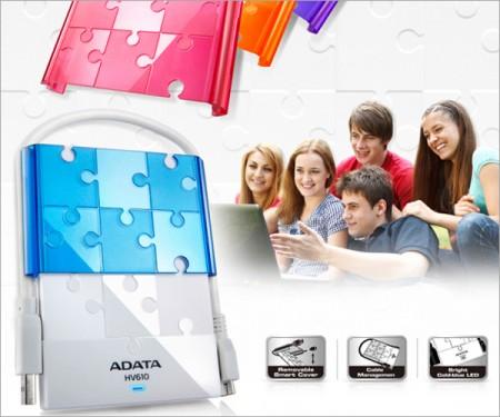 Оригинальный внешний HDD ADATA DashDrive HV610