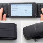 Мобильная клавиатура Elecom TK-FNS040BK