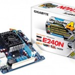 GIGABYTE GA-E240N — mini ITX плата с процессором AMD E-240