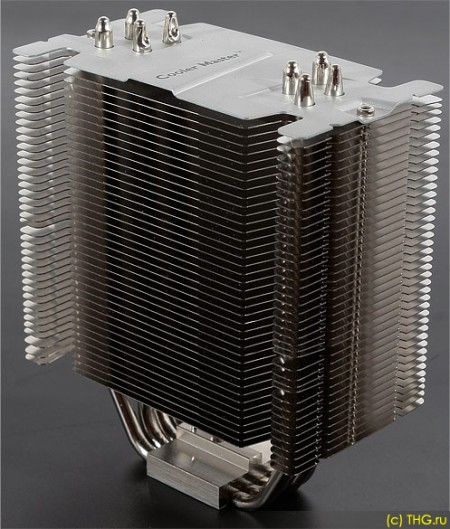 CoolerMaster Hyper 412S: радиатор