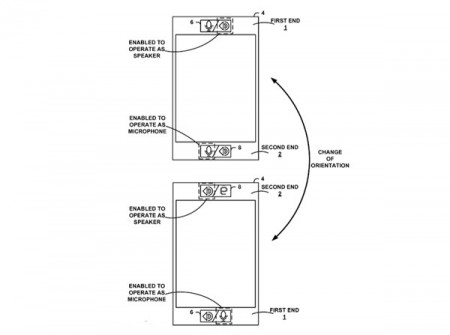 Google патентует «смартфон-перевертыш»