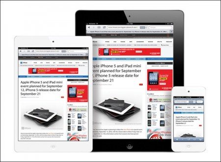 Концепт-арт iPad mini (иллюстрация iMore).