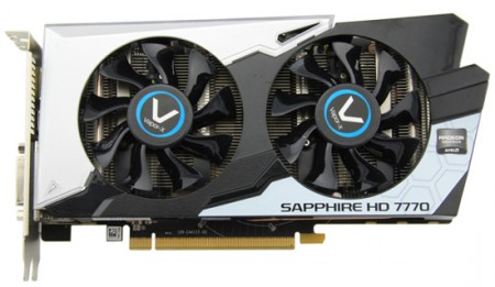 Sapphire  Radeon HD 7770 GHz Edition OC Vapor-X