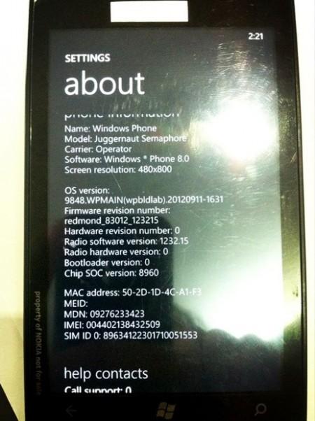 Nokia Lumia Juggernaut