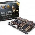 ASUS TUF Sabertooth 990FX GEN3 R2.0 с поддержкой PCI Express 3.0