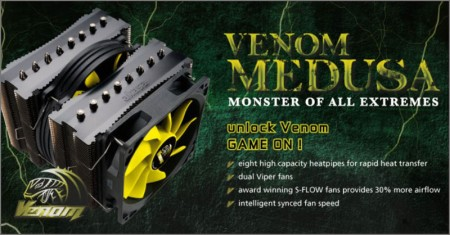 Akasa Venom Medusa
