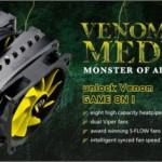 Akasa Venom Medusa — башенный универсальный CPU-кулер