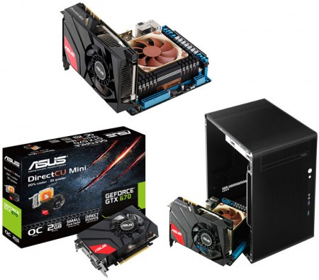 ASUS R.O.G. GeForce GTX 670 DirectCU Mini