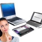 Муки выбора: ноутбук, планшет или нетбук