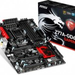 MSI представила три геймерские платы на Intel Z77