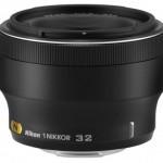 1 Nikkor 32mm f/1.2 — новый объектив для беззеркалок Nikon 1