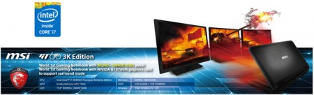 MSI GT60 3K Edition