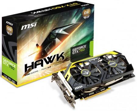 MSI GTX 760 Hawk