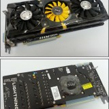 «Шпионские» фото видеокарты MSI N780 Lightning и некоторые подробности о ней