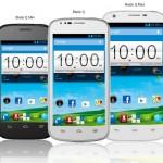 ZTE представила смартфоны Blade Q Mini, Q и Q Maxi для Европы