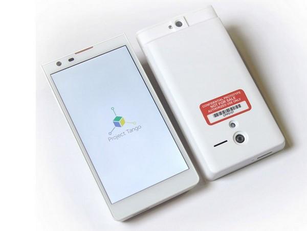 Новый проект Project Tango от компании Google позволит мобильным устройствам ориентироваться в пространстве