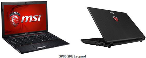 MSI GP70 2PE Leopard и GP60 2PE Leopard