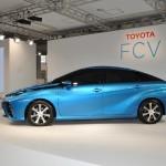 Седан FCV первый водородный автомобиль от Toyota
