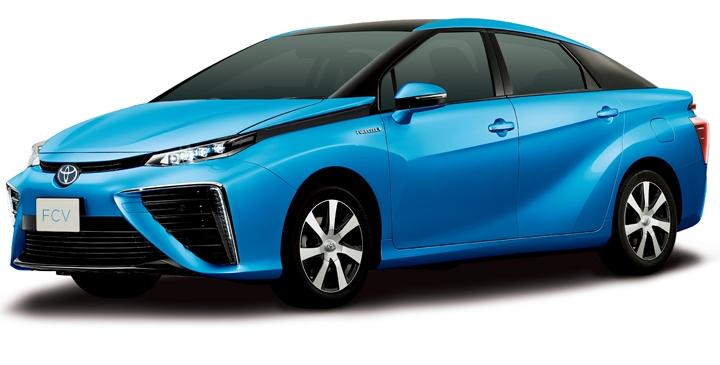 Седан Toyota FCV