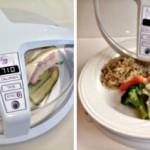 Микроволновая печь с функцией измерения калорий