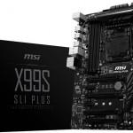 Системная плата MSI X99S SLI Plus поддерживает DDR4