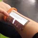Браслет Cicret — «смартфон на руке»