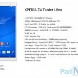 Возможно Sony готовит супер-планшет Xperia Z4 Tablet Ultra