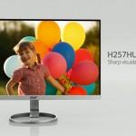 Acer H257HU — монитор без рамок, почти