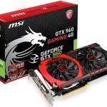 MSI представила видеокарту  GTX 960 GAMING 4G