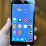 ZTE представила первый смартфон со сканером глаз