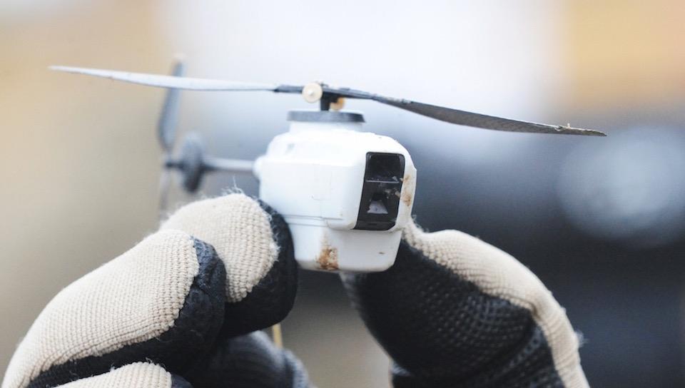 Black Hornet Nano Helicopter UAV
