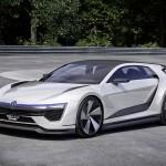 Концепт Volkswagen Golf GTE — будущее спортивных Golf