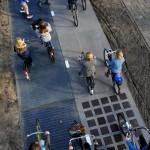 «Солнечная» велодорожка от SolaRoad показала высокую эффективность