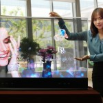 Компания Samsung представила прозрачные и зеркальные OLED-дисплеи