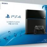 Sony выпускает PlayStation 4 с 1 Тбайт памяти