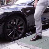 Зарядить электромобиль помогут пешеходы