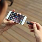 Кабель для зарядки  MemoriesCable также является флешкой для iOS-устройств