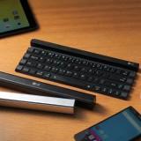 LG Rolly — удобная компактная клавиатура для планшетов и смартфонов