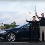 Tesla Model S P85D устанавливает новый рекорд дальности хода: больше 720 км