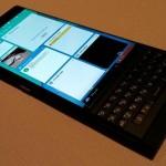 Появились живые фото смартфона BlackBerry на Android