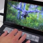 Microsoft представила прототип клавиатуры для планшетов с дополнительным экраном
