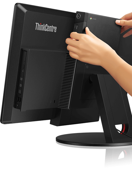 lenovo-desktop-thinkcentre-chromebox-tiny-attached-to-monitor