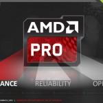 AMD выпустила процессоры PRO A-серии для бизнес-ноутбуков и ПК