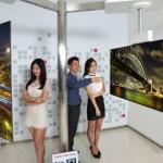 LG создала телевизор, который можно смотреть с двух сторон