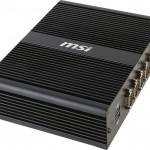 MSI BOX PC MS-9A69 — безвентиляторный мини ПК на базе процессора Broadwell