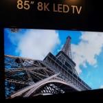 Sharp LV-85001 — первый в мире телевизор с разрешением 8K
